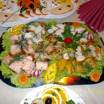 gemischte Fischplatte